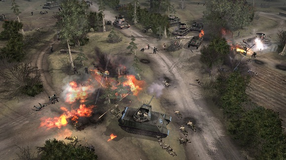 Company Of Heroes Complete Edition Game Strategy Tentara