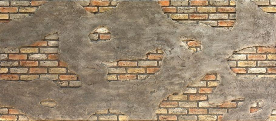 Ladrillo Cemento Retro Duvar Paneli