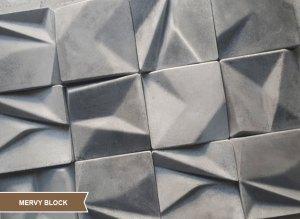Seramik Blok Duvar Kaplama Mervy Block
