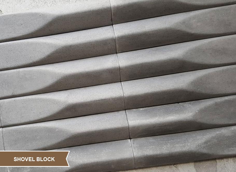 Seramik Blok Duvar Kaplama Shovel Block