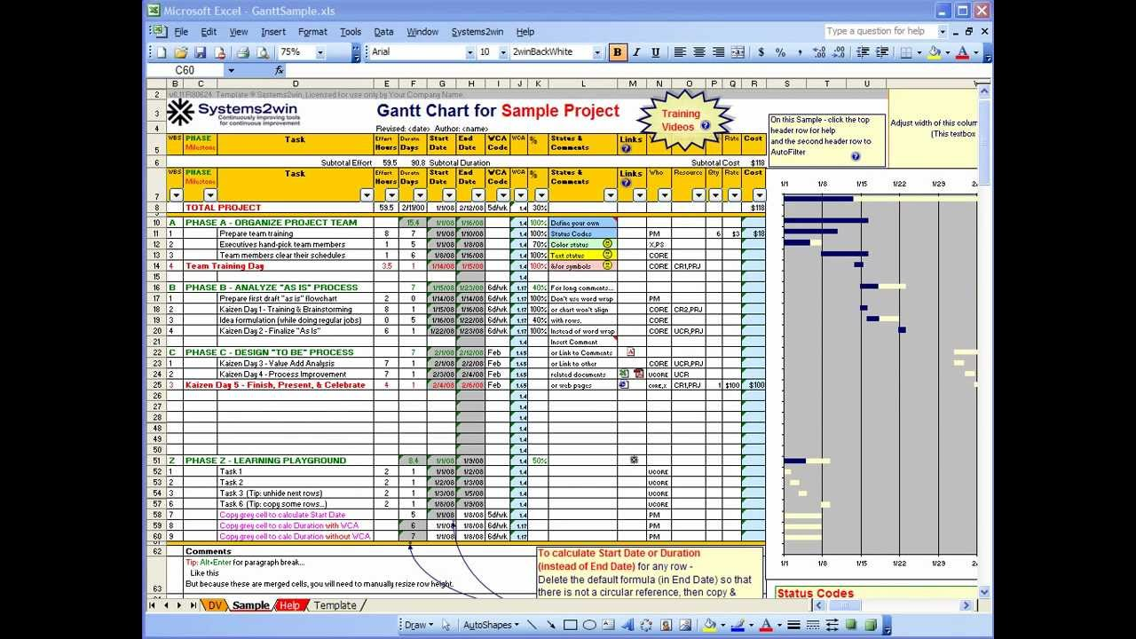 Project Plan Template Excel 2013 Task List Templates