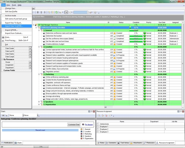 Project Planning. .Risk Management Plan Template Excel