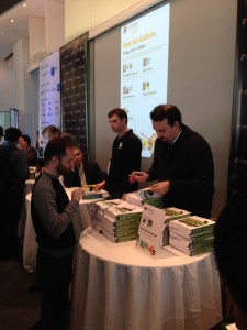 Max book signing in Modev