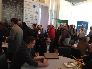 Max book signing line in Modev