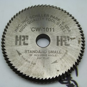 "HPC CW-1011 Standard Small 90 Inclusive Angle .044"" Flat"