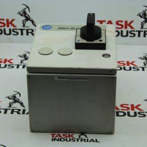 Allen-Bradley CAT No. 40754-314 Rev 1 361JC Industrial Enclosure w/Switch