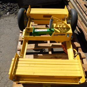 AES Raptor Stinger Mobile Fall Protection Cart with Titan Self-Retracting Lifeline