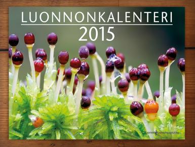 Luonnonkalenterin 2015 kansi