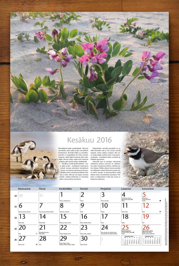 Luonnonkalenteri 16 kesakuu