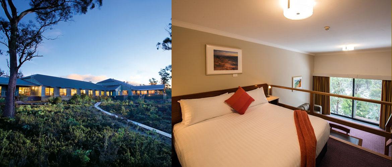 Cradle Mountain - Cradle Mountain Hotel - Split Level King Spa Room