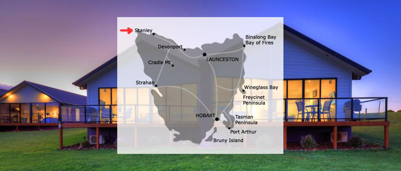 Location - Stanley, North-West Tasmania