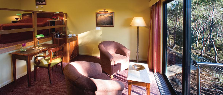 Split Level King Spa Room