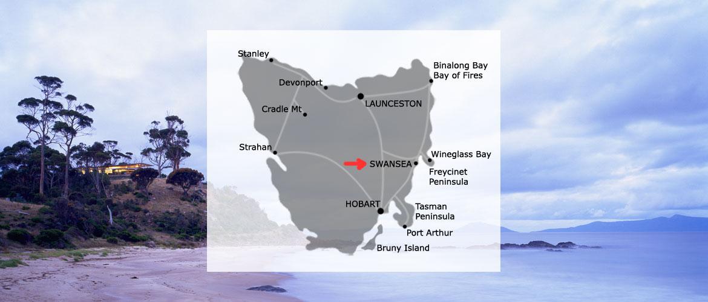 Location: near Swansea, Tasmania
