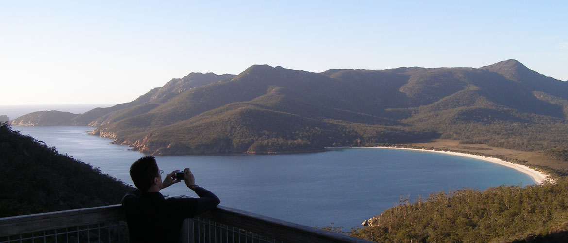 Surreal Wineglass Bay