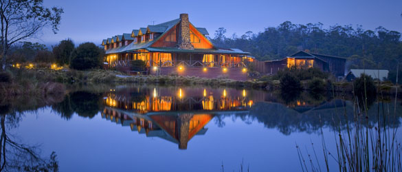 Luxury Resorts Tasmania - Peppers Cradle Mountain Lodge