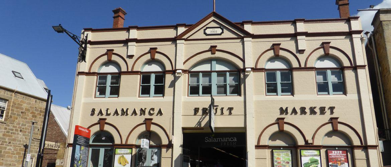 Hobart's Historic Salamanca Place