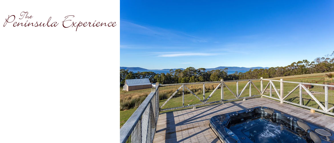 Views to Bruny Island