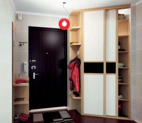 Угловой шкаф в прихожую, фото дизайн идеи