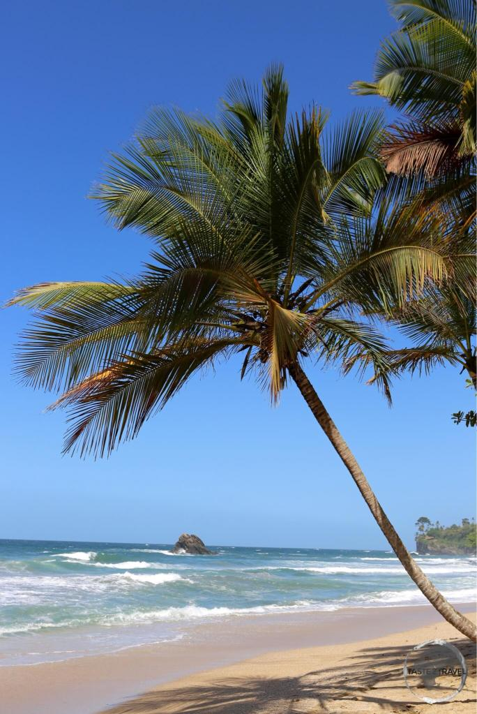 Blanchisseuse beach on the north coast of Trinidad.
