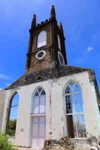 St Andrew's Presbyterian Church was destroyed in 2004 by Hurricane Ivan