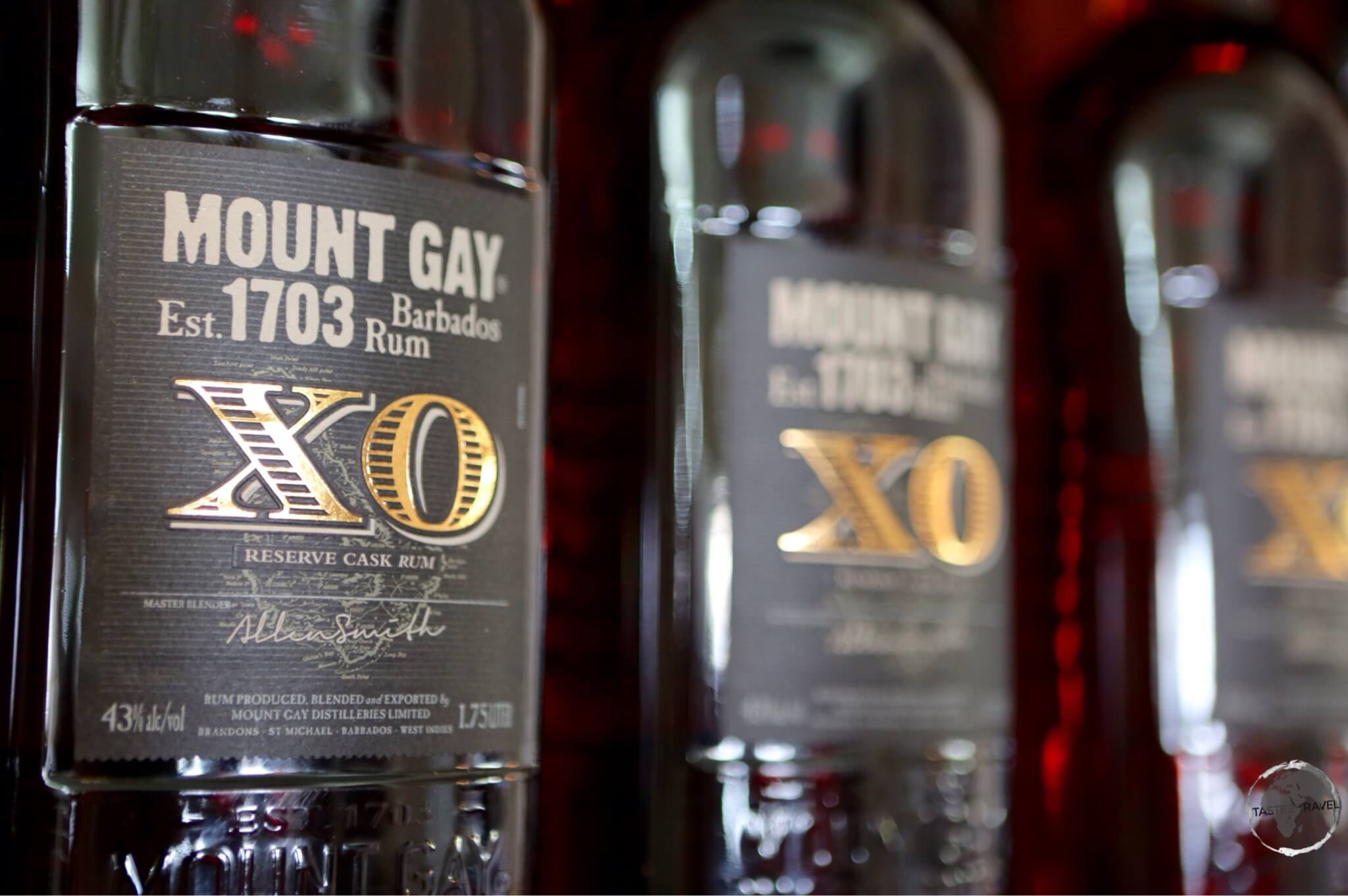 Mount Gay XO – too smooth to be used in a rum punch,