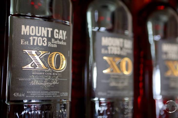 Mount Gay XO - too smooth to be used in a rum punch