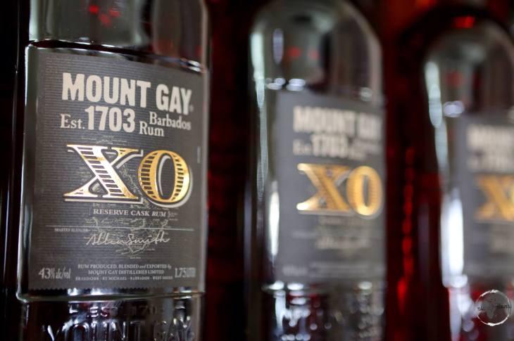 Mount Gay XO Rum.