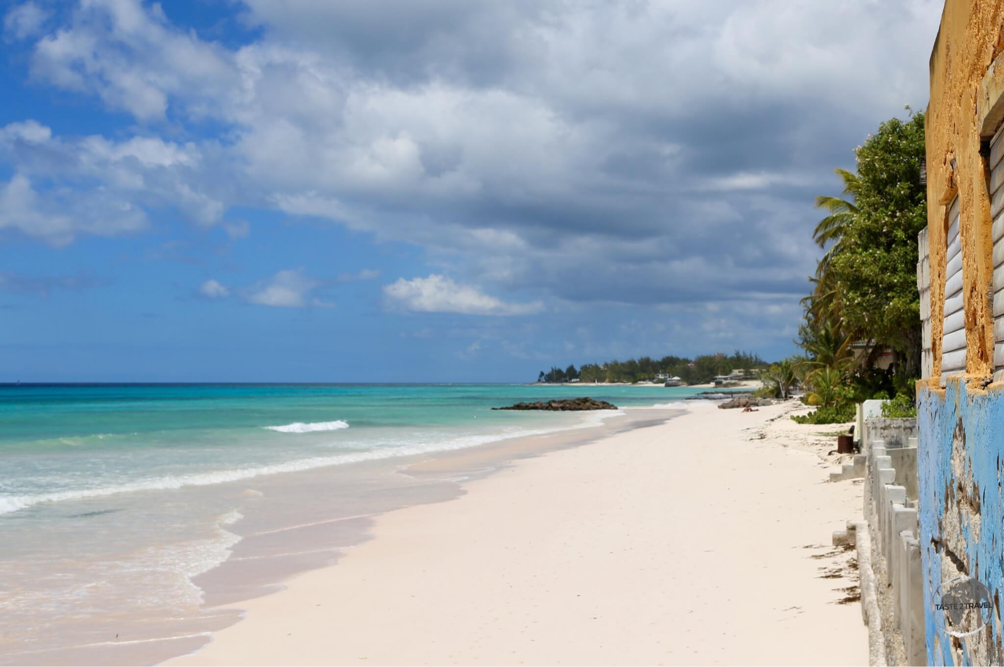 Typical west coast beach.
