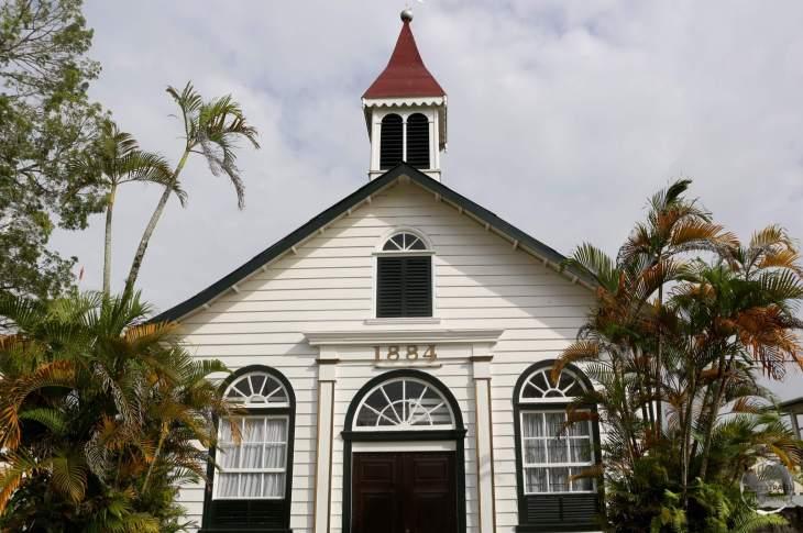 Historic Dutch church in Paramaribo