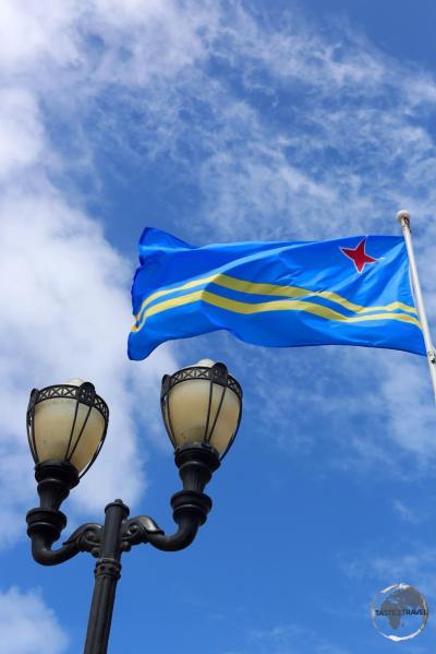 Aruba Flag Oranjestad