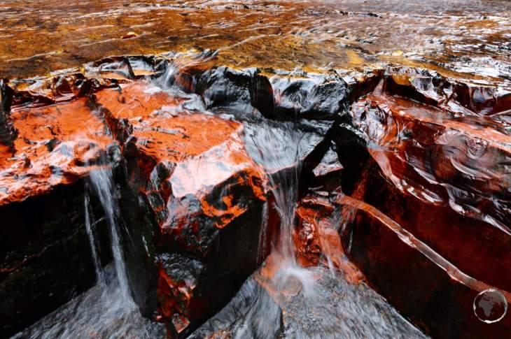 Jasper creek waterfalls, Venezuela.