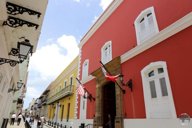 The beautifully restored San Juan old town, which was founded by Spanish colonists in 1521.