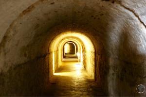 Inside San Christobal fort