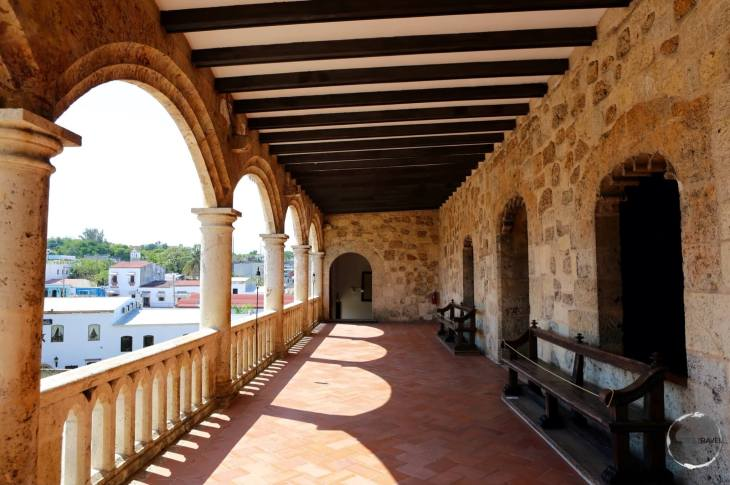 Built by Bartholomew Columbus as his residence - Alcazar de Colon, Santo Domingo.
