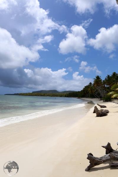 Beach at Las Terrenas.