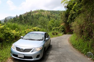Jamaica Travel Guide: Rental car in the Blue Mountains