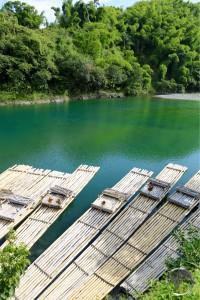 Rafts on the Rio Grande