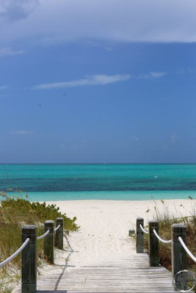The stunningly beautiful 'The Bight' beach, was located a short walk from my condo.