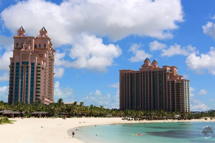 The mega-sized Atlantis Resort, Paradise Island.
