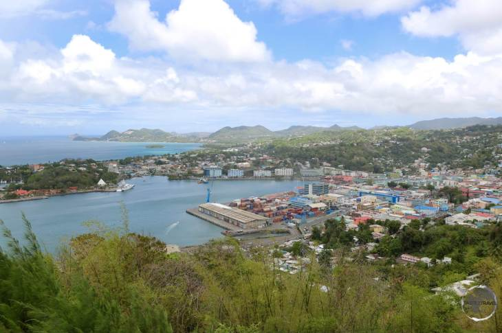 View of Castries from Morne Fortune