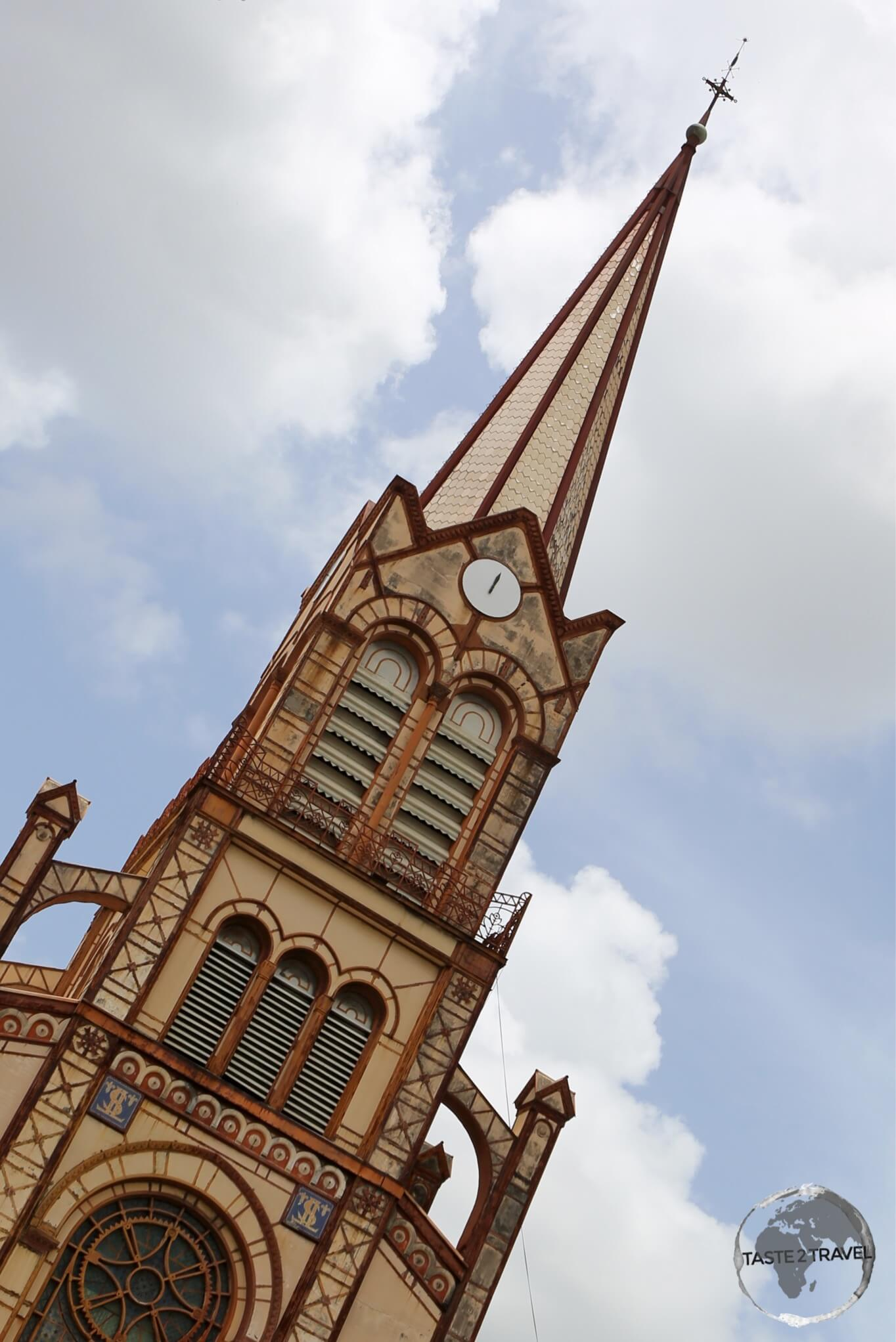 St. Louis cathedral, Fort-de-France.
