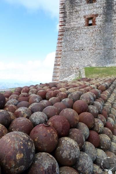 The impressive hilltop Citadelle Laferrière, near Cap Haitien.