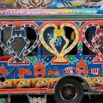 Haiti Travel Guide: Tap-Tap in Port-au-Prince.