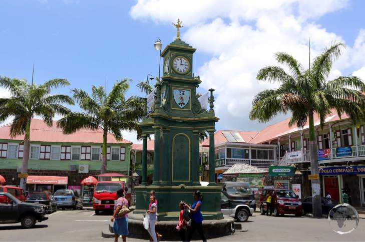 Named after Piccadilly circus, the 'circus' is the centre of Basseterre.