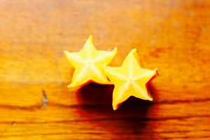 Bisected Star Fruit