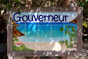 Entrance to Anse de Gouverneur beach