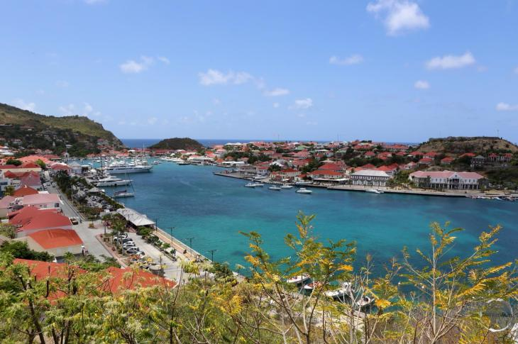 View of Gustavia