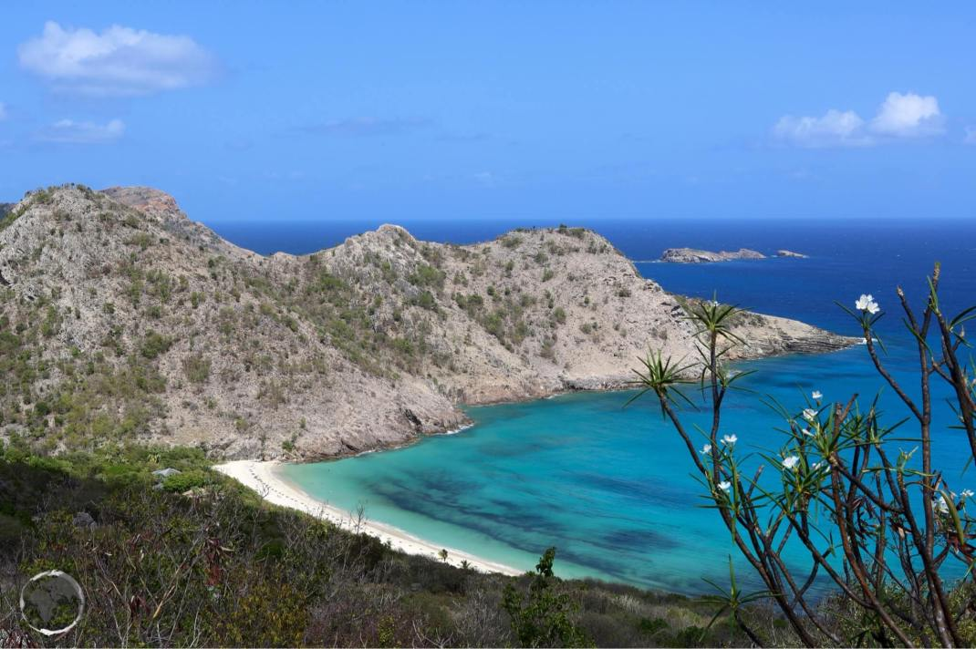 A panoramic view of Anse duGouverneur.