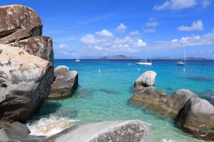 The pristine waters of 'The Baths' on Virgin Gorda island offer some of the best snorkelling in the BVI.