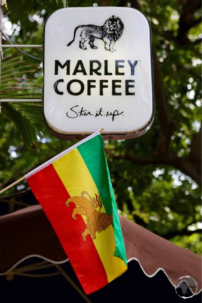 Marley Coffee shop in Kingston.